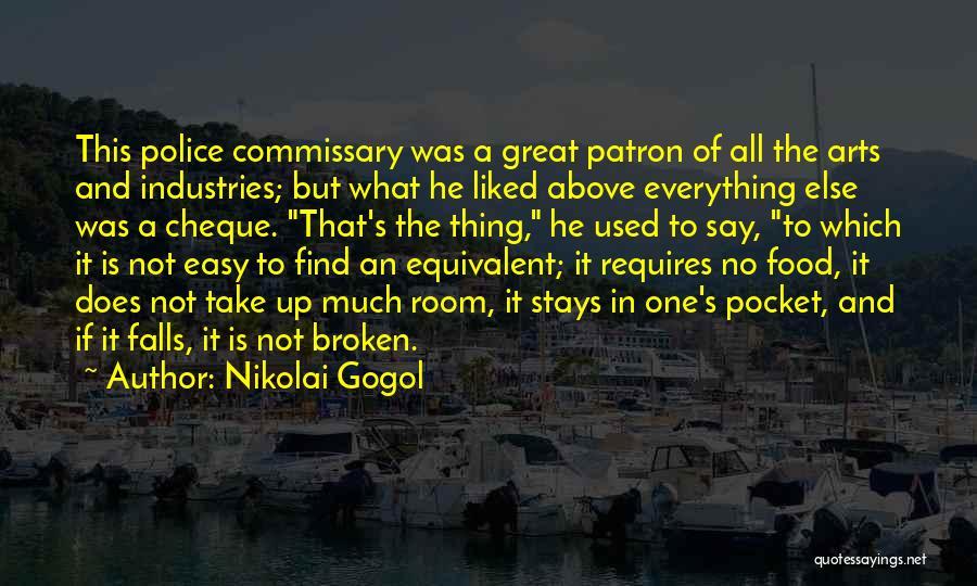 Patron Quotes By Nikolai Gogol