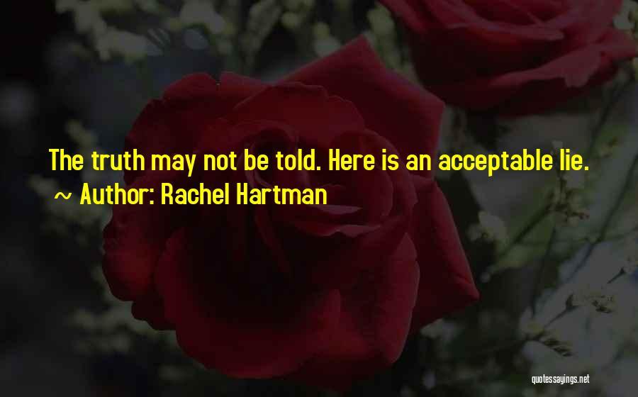 Patron Quotes By Rachel Hartman