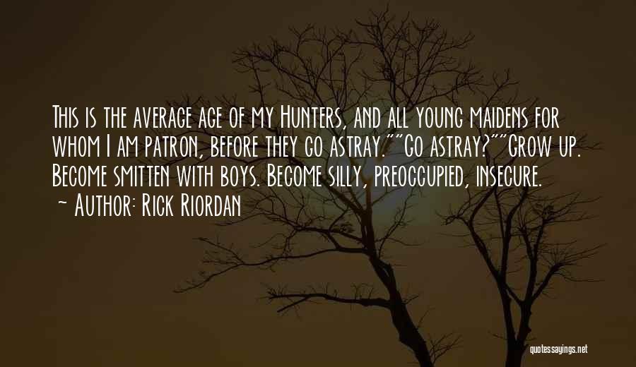 Patron Quotes By Rick Riordan
