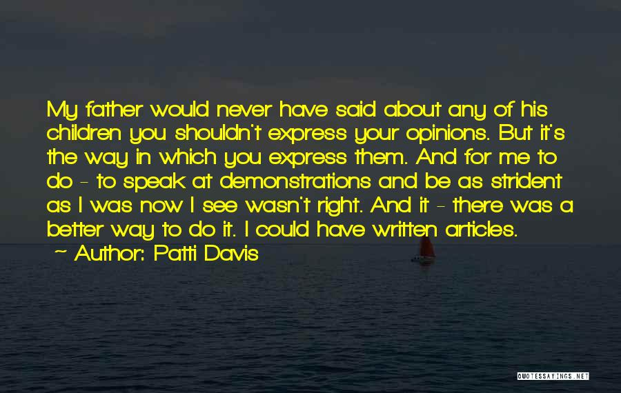 Patti Davis Quotes 1804325