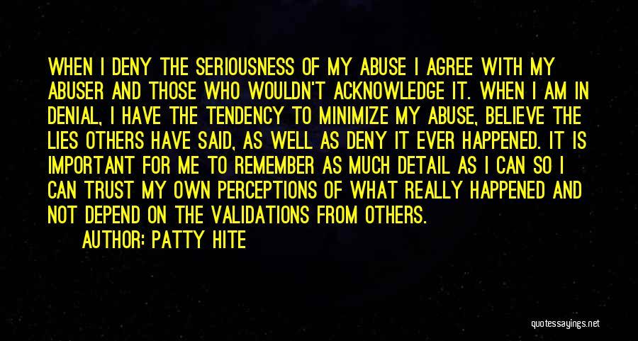 Patty Hite Quotes 2262412