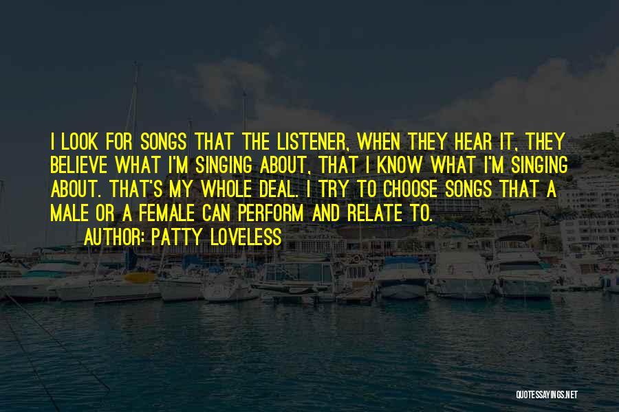 Patty Loveless Quotes 1162251