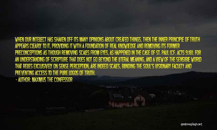 Paul Case Quotes By Maximus The Confessor