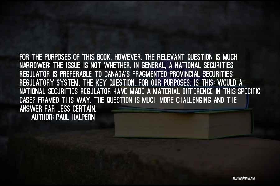 Paul Case Quotes By Paul Halpern