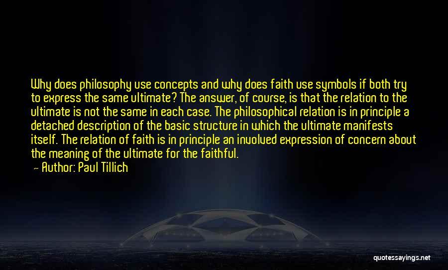 Paul Case Quotes By Paul Tillich