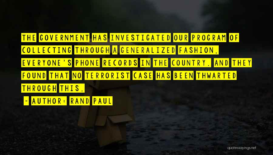 Paul Case Quotes By Rand Paul