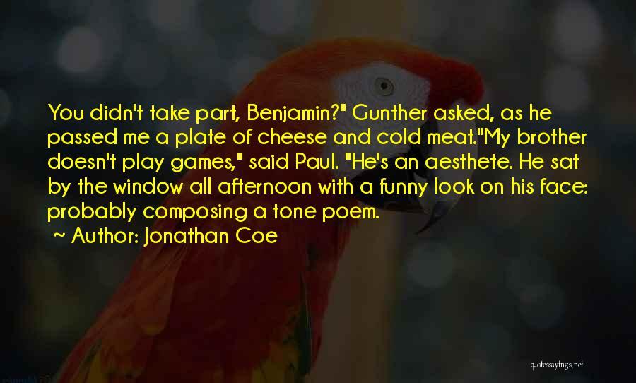 Paul Coe Quotes By Jonathan Coe