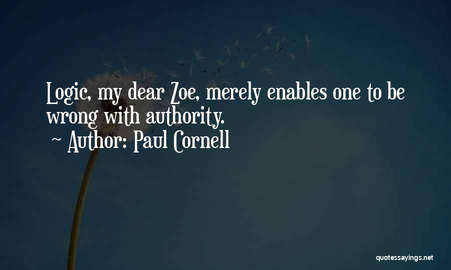 Paul Cornell Quotes 1047872