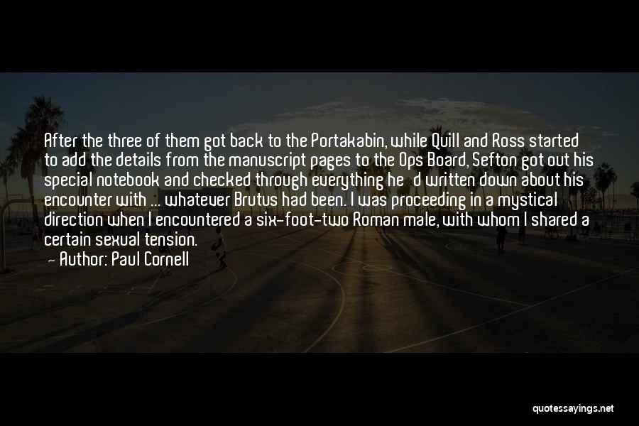 Paul Cornell Quotes 1372000