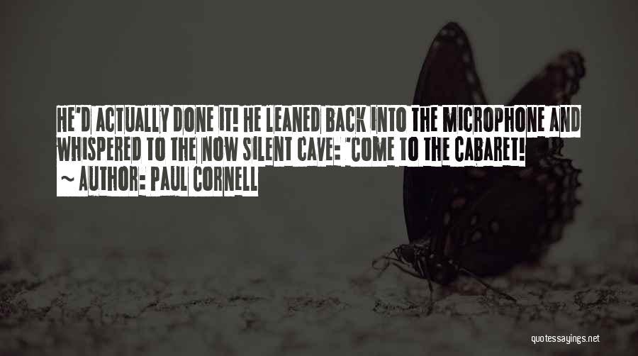 Paul Cornell Quotes 2091904