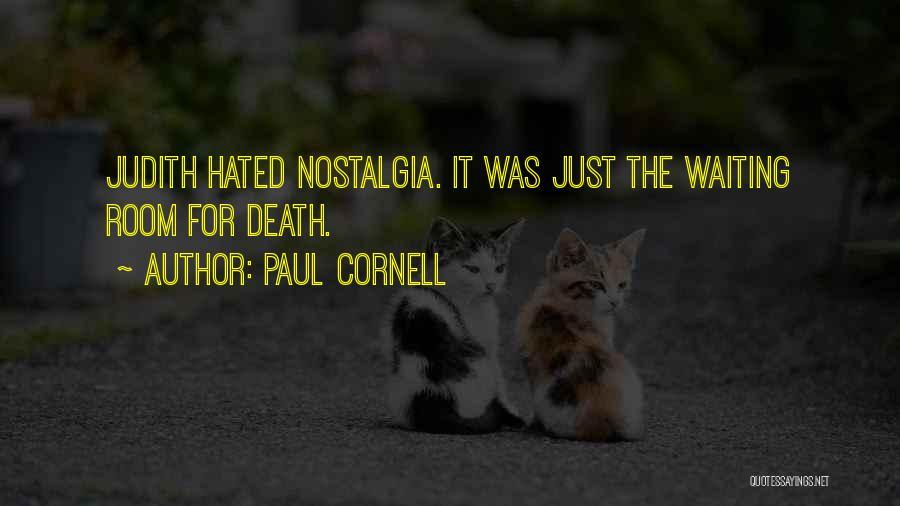 Paul Cornell Quotes 811967