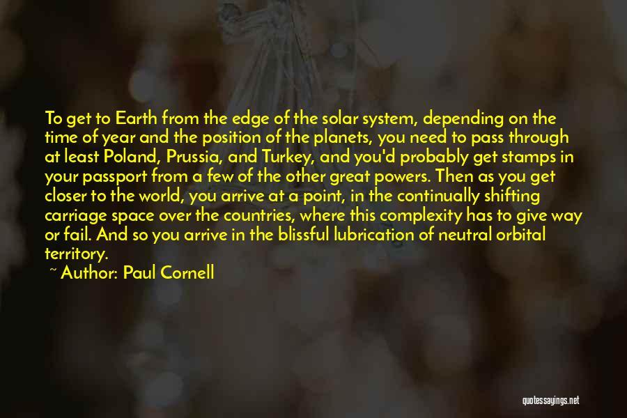Paul Cornell Quotes 831015