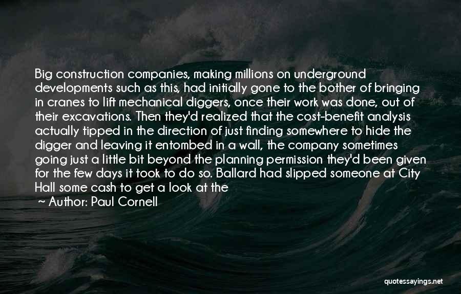 Paul Cornell Quotes 922066