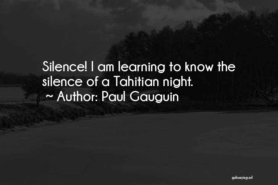 Paul Gauguin Quotes 1508161
