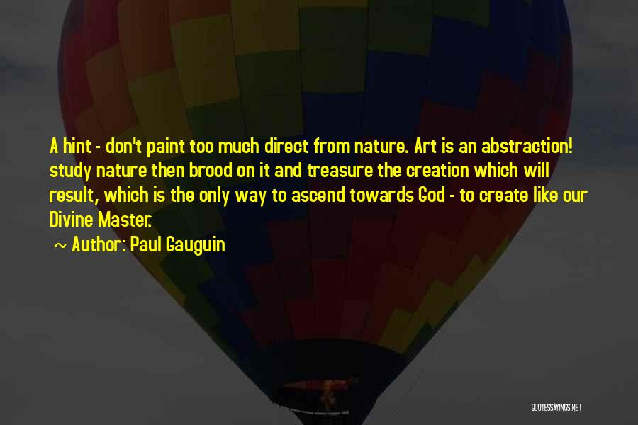 Paul Gauguin Quotes 194244