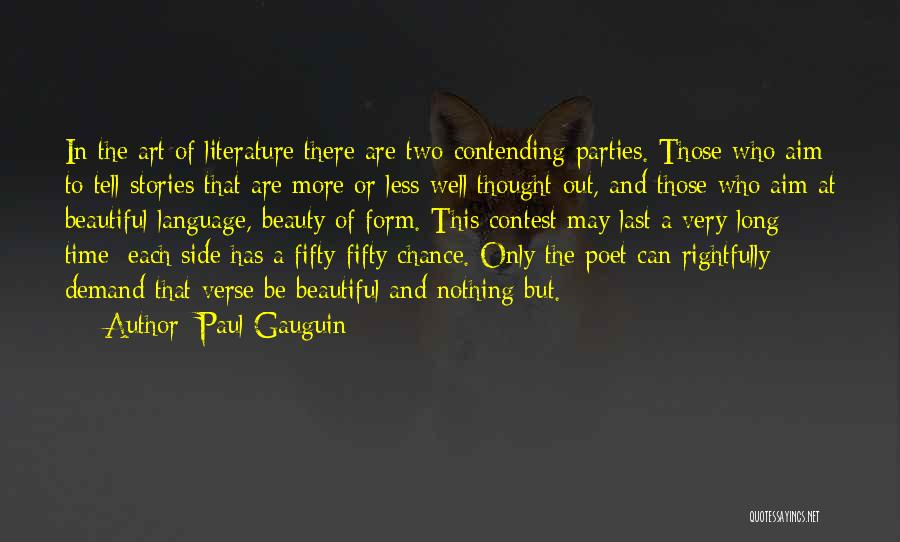 Paul Gauguin Quotes 796728