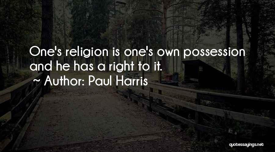 Paul Harris Quotes 1192177