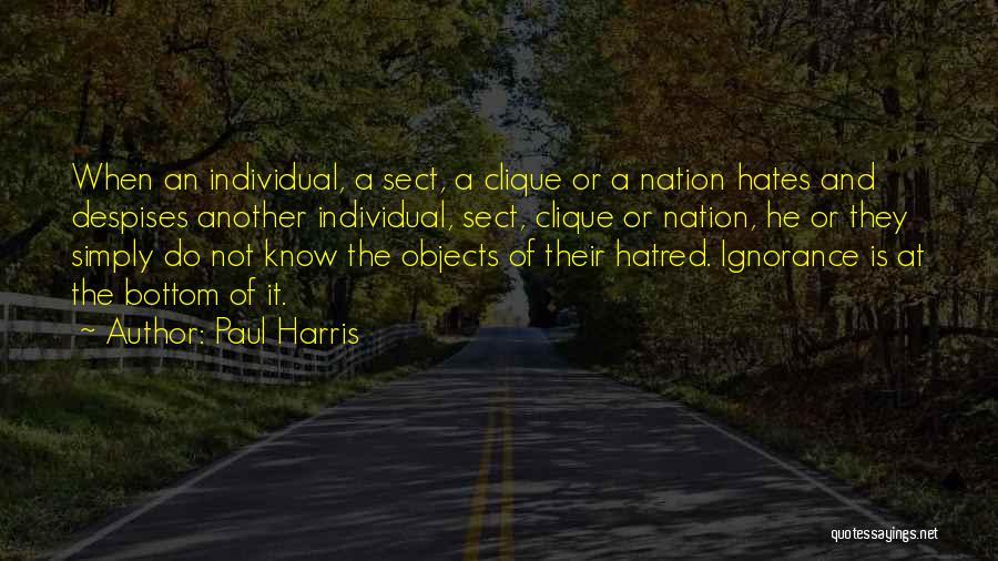 Paul Harris Quotes 1503128