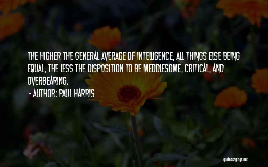 Paul Harris Quotes 1577365
