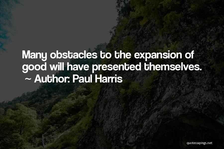 Paul Harris Quotes 1594121