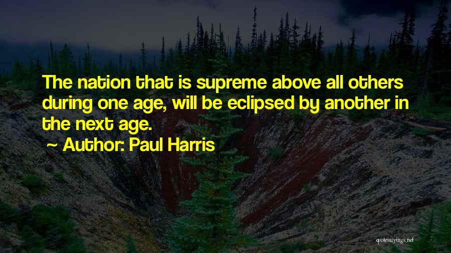 Paul Harris Quotes 1705464