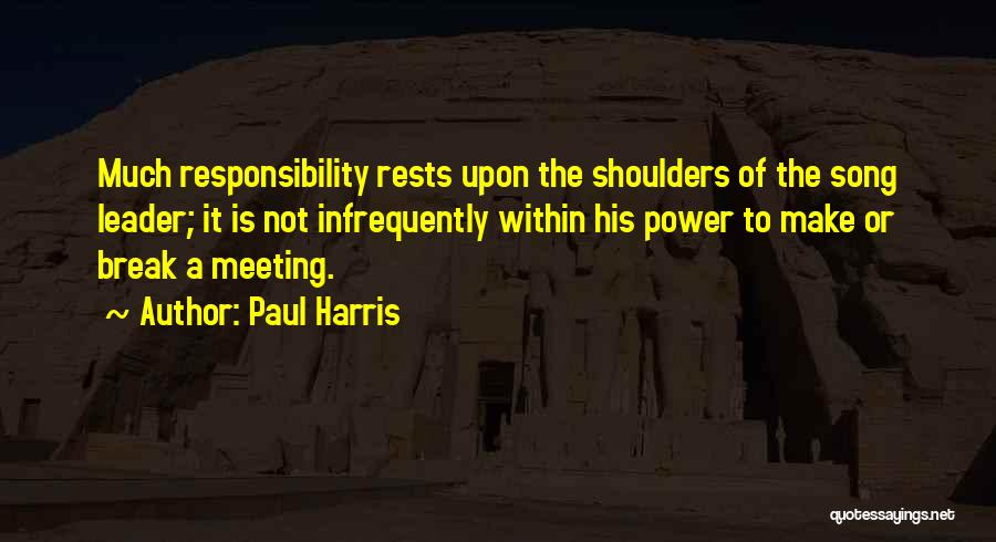 Paul Harris Quotes 194184
