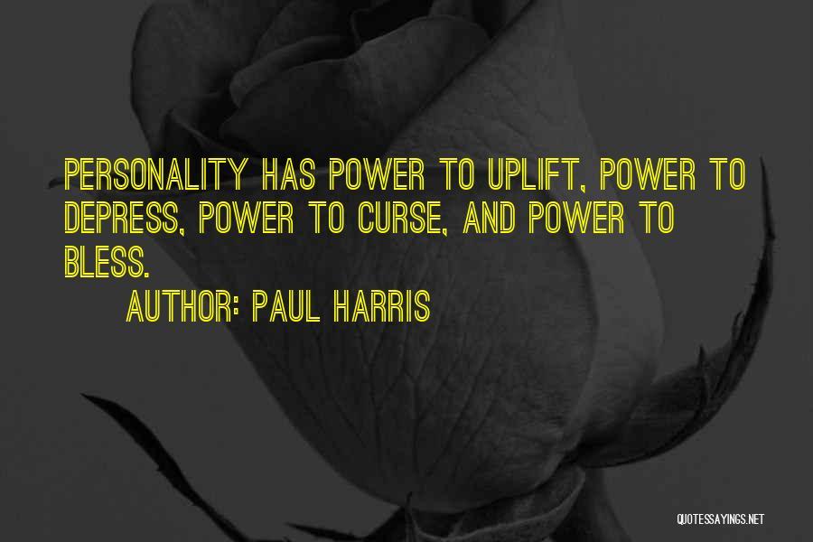 Paul Harris Quotes 436892