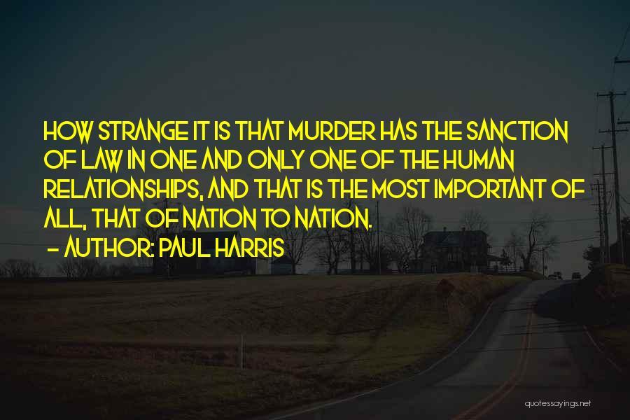 Paul Harris Quotes 510866