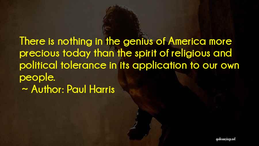 Paul Harris Quotes 537832