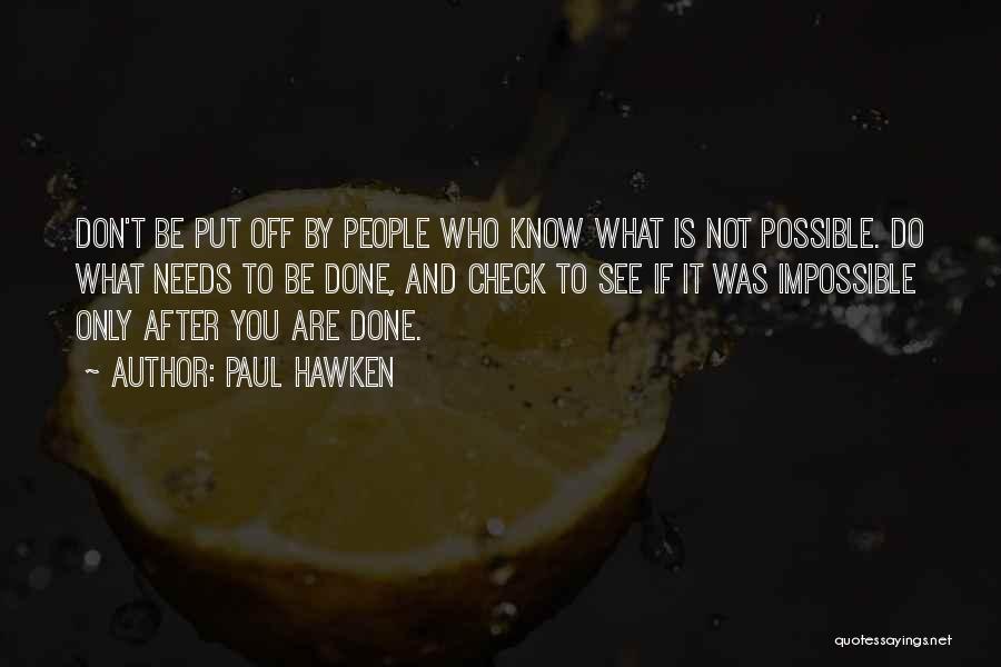 Paul Hawken Quotes 1135552