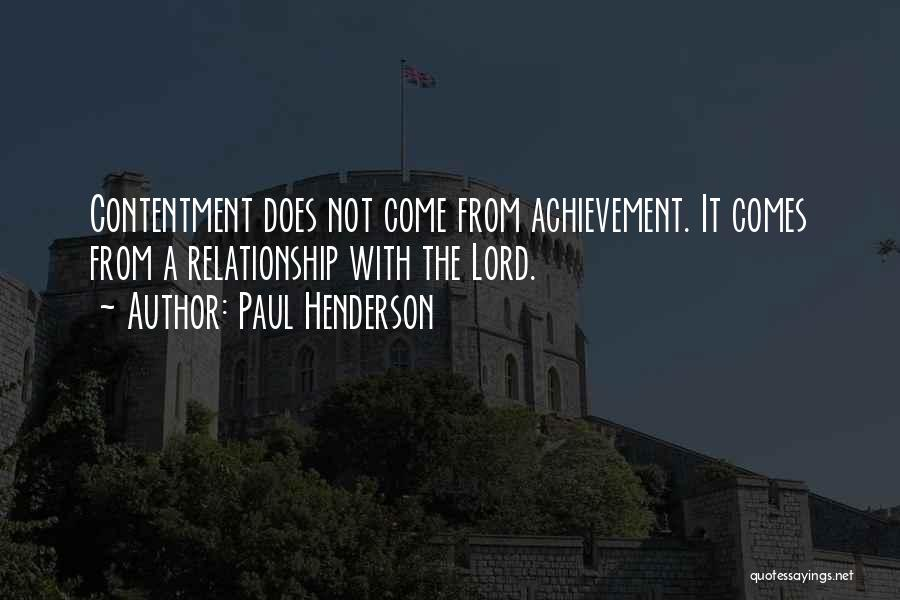 Paul Henderson Quotes 103361
