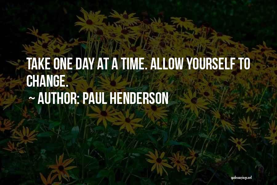 Paul Henderson Quotes 1562555
