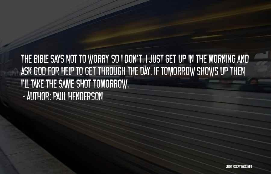 Paul Henderson Quotes 2182513