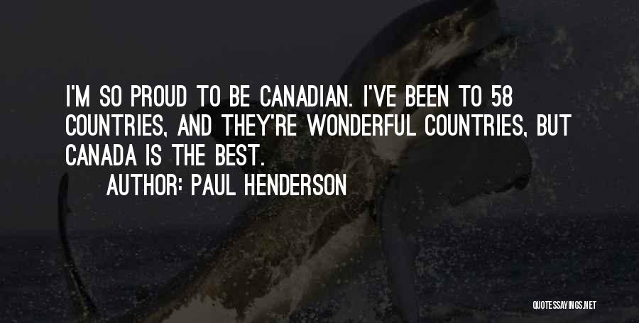 Paul Henderson Quotes 2243289