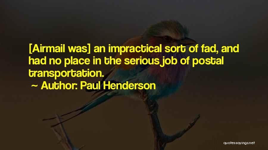 Paul Henderson Quotes 626040