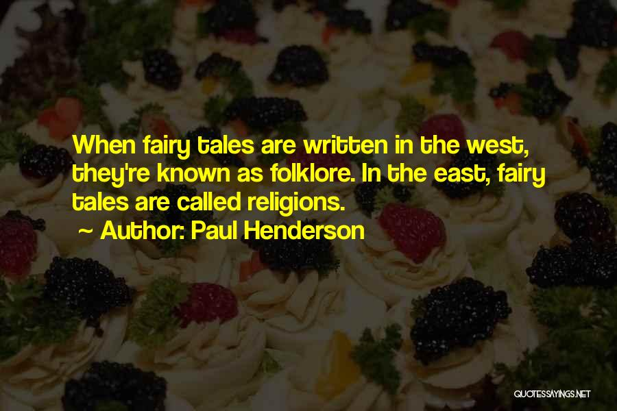 Paul Henderson Quotes 707360