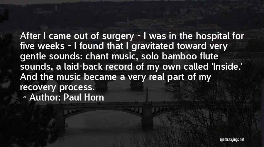 Paul Horn Quotes 1235688