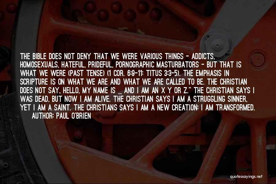 Paul O'Brien Quotes 127350