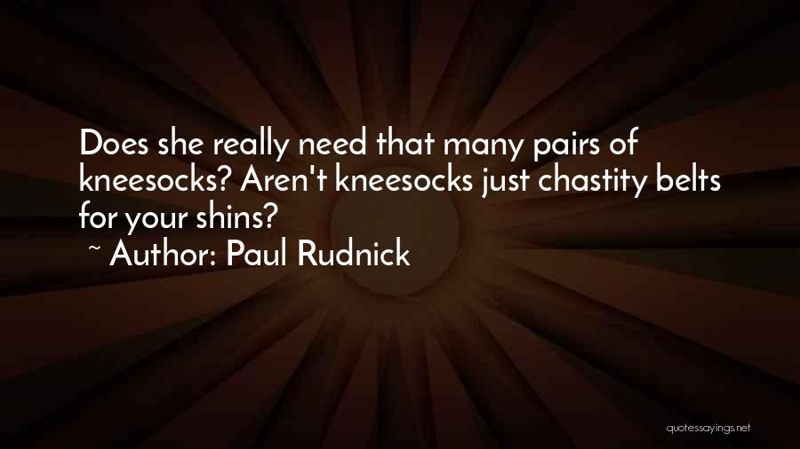 Paul Rudnick Quotes 1289066