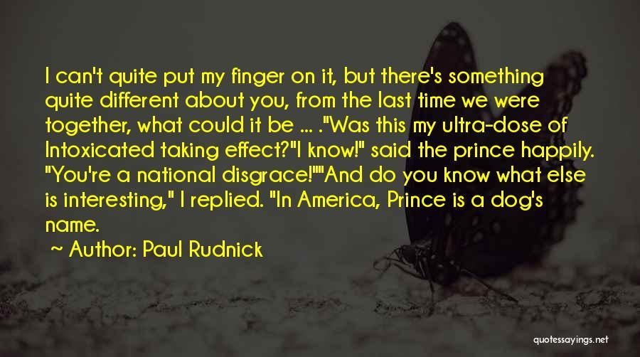 Paul Rudnick Quotes 1580771