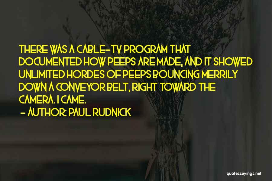 Paul Rudnick Quotes 568169