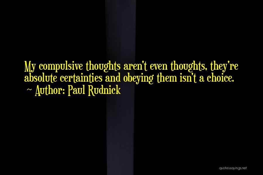 Paul Rudnick Quotes 722017