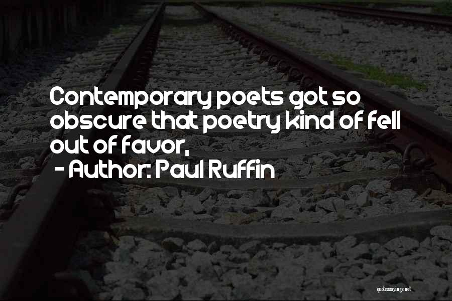 Paul Ruffin Quotes 1338769