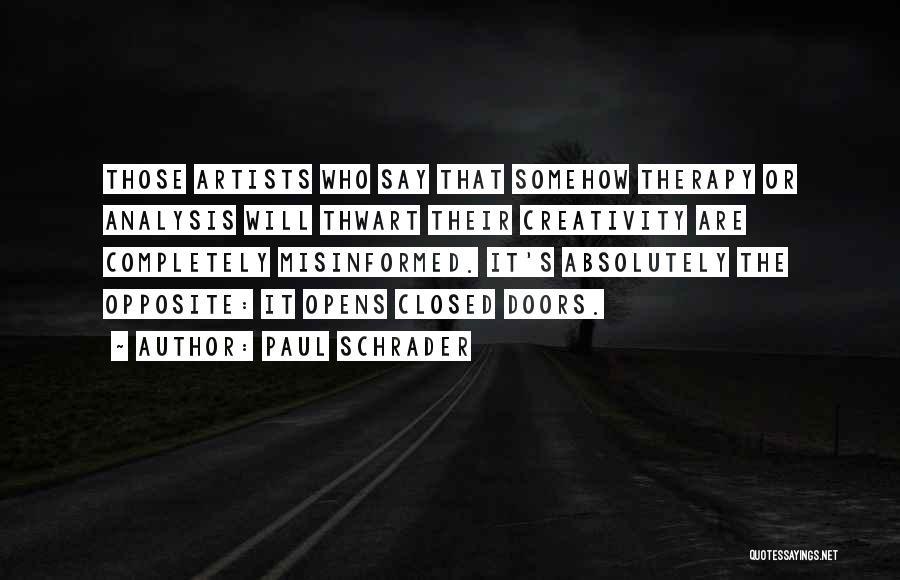 Paul Schrader Quotes 1420493