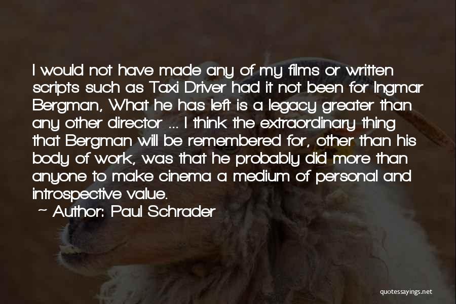 Paul Schrader Quotes 817951