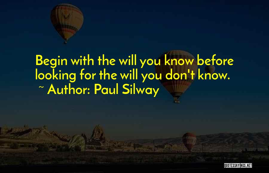 Paul Silway Quotes 1610398
