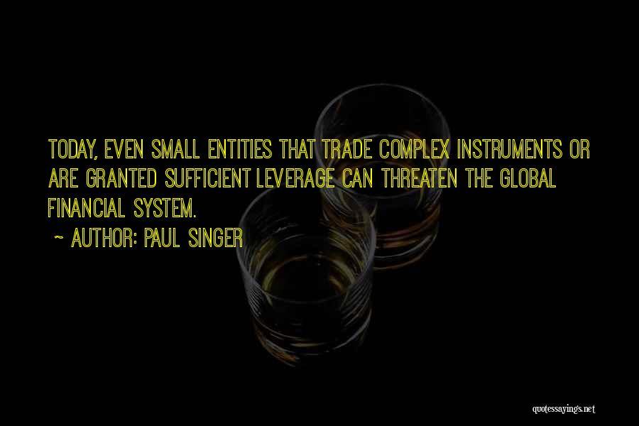 Paul Singer Quotes 1032288
