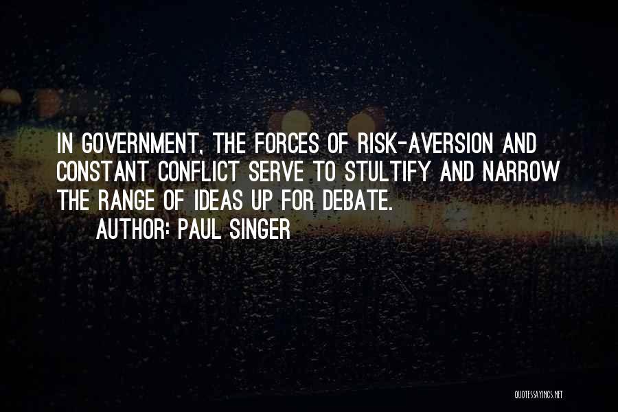 Paul Singer Quotes 121747