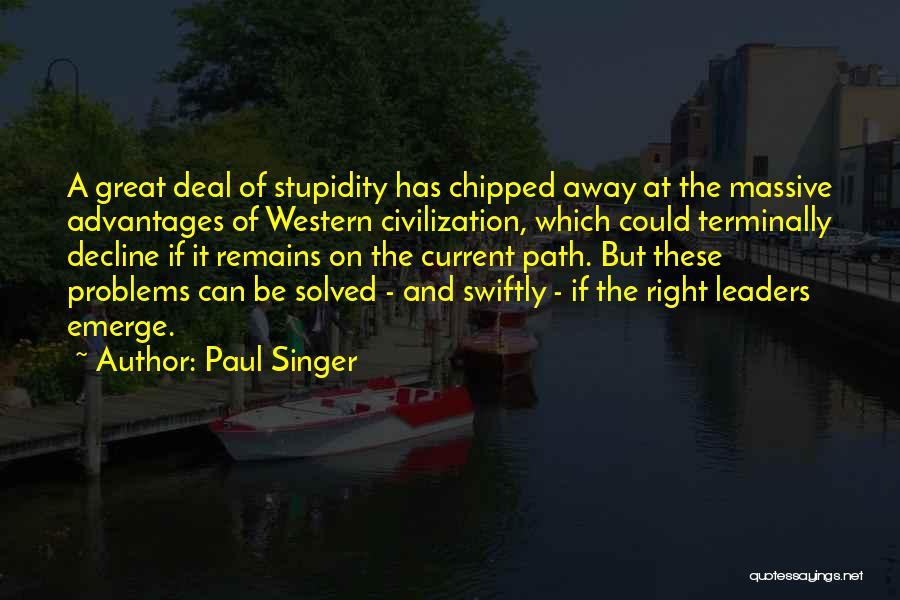 Paul Singer Quotes 1368024
