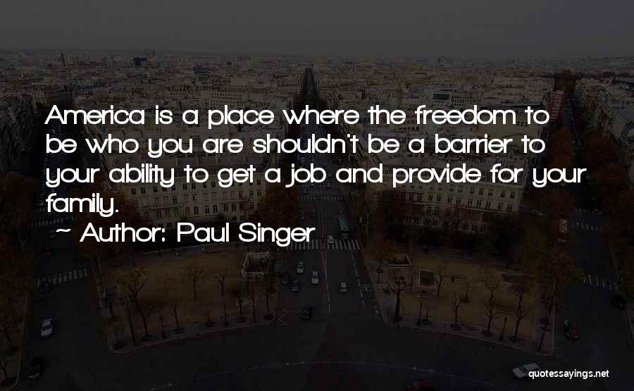 Paul Singer Quotes 1446041